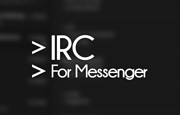 Messenger IRC Theme