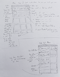 Conceptual Wireframe